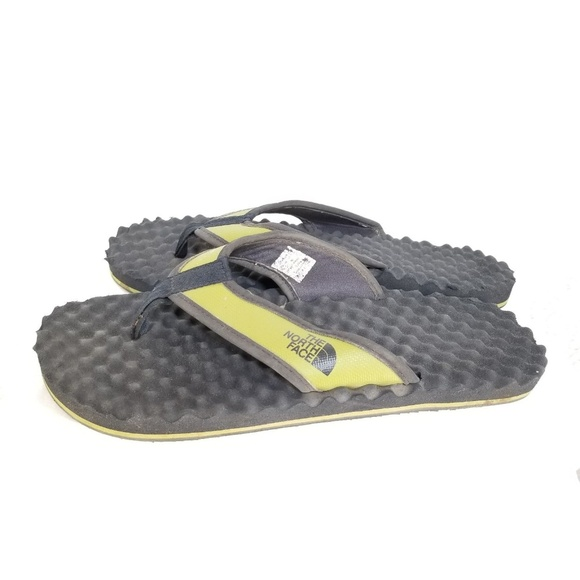 80c56ee15 The North Men Face Synthetic Flip Flops Sandals 8